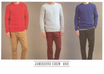 Landscape design for sweater point of sale