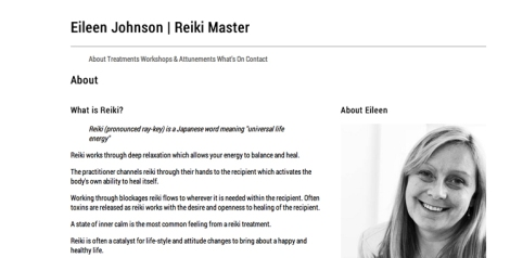 eileen johnson reiki